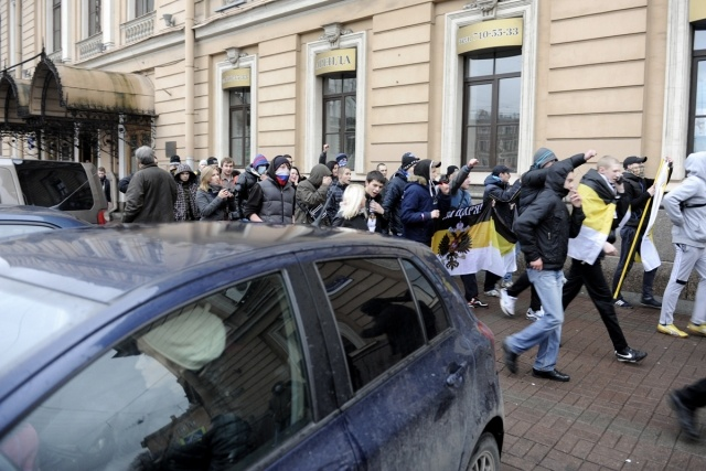 Русский марш Петербург 4 ноября 2012: Фото