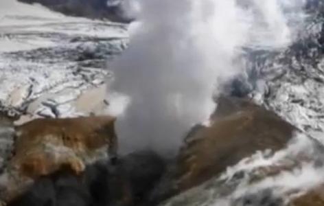 Извержение вулкана Плоский Толбачик (фото): Фото