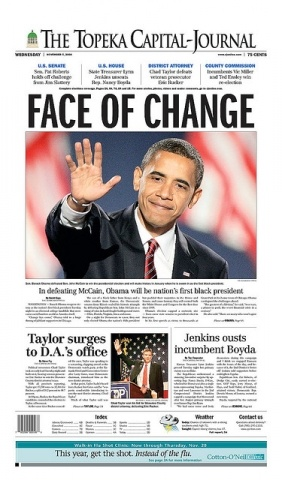 выборы в США на страницах газетных полос: Фото