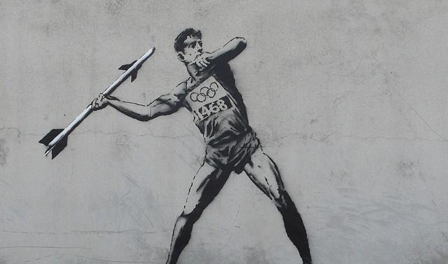 Стрит-арт, Бэнкси: Фото