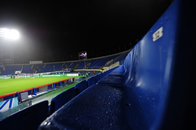 Зенит - ЦСКА, 26 ноября, пустые трибуны: Фото
