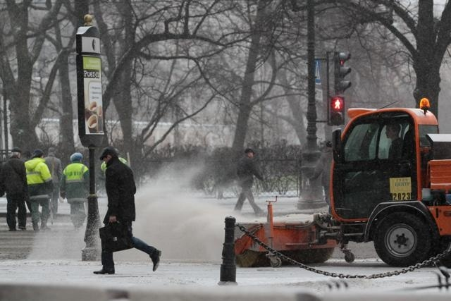 Снегопад, метель, мороз, Петербург: Фото