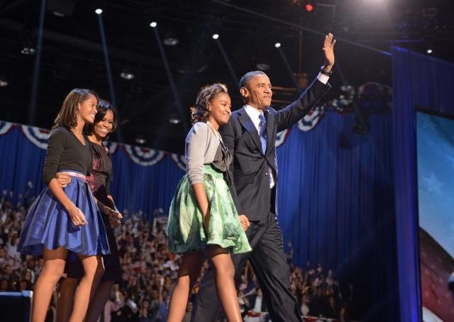Победа Барака Обамы: Фото