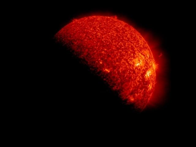Затмение, 14 ноября 2012: Фото