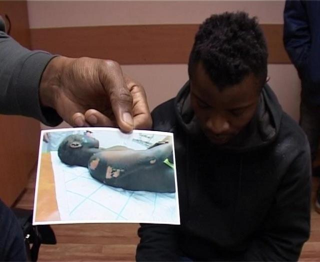 Африканку пытали утюгом: Фото