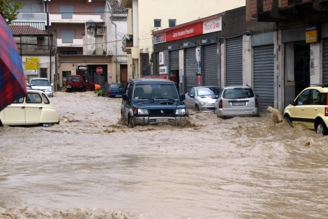 Наводнение в Италии 2012: Фото