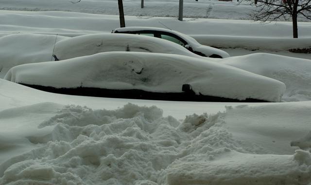Сугробы (снег, зима) Петербург: Фото