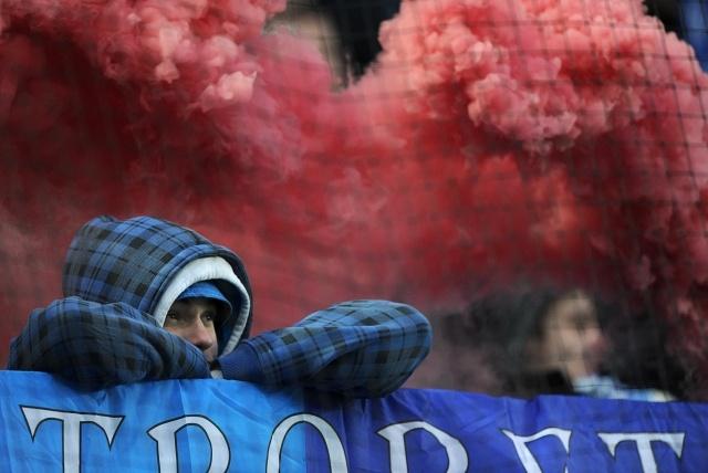 Матч Динамо- Зенит прерван из-за травмы вратаря Антона Шунина (фоторепортаж): Фото