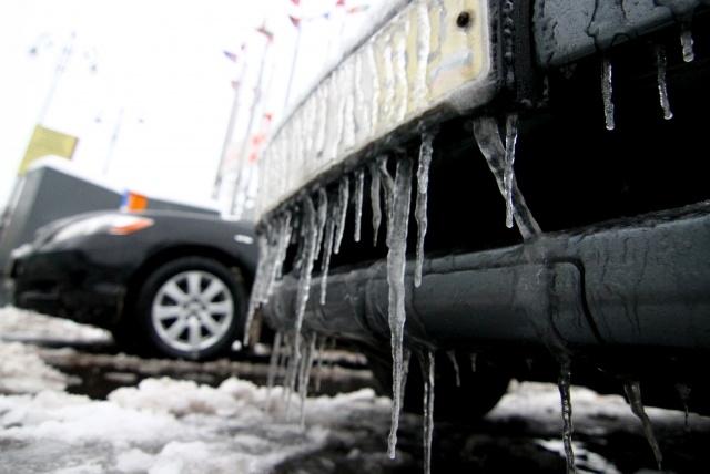 Ледяной дождь Москва 30 ноября 2012: Фото