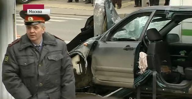 ДТП на Онежской улице в Москве - кадры с места события: Фото