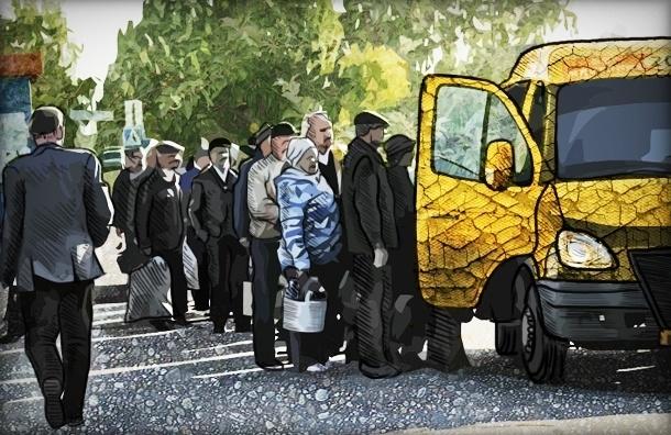 30 причин, по которым петербуржцы не любят маршрутки