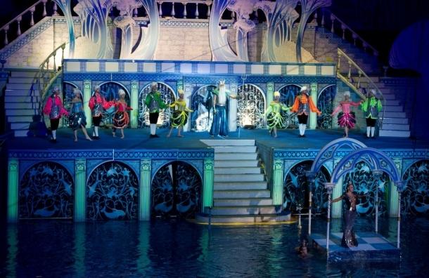 Уникальное новогоднее представление на воде для детей и взрослых