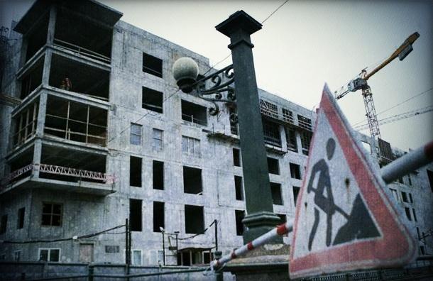 Облицовку фасадов второй сцены Мариинского театра придется переделывать