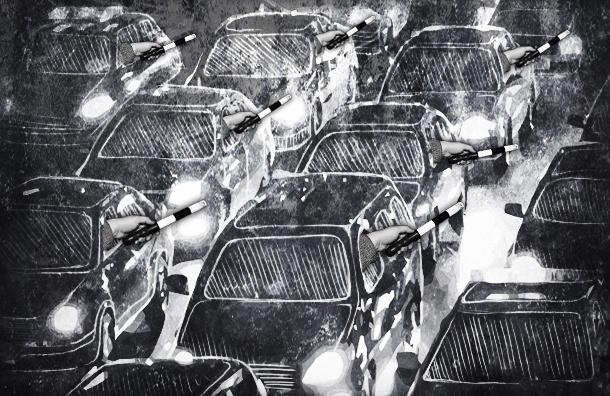 Простые водители берут на себя функции автоинспекторов