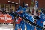 Биатлон, смешанная эстафета 25.11.12: Россия взяла золото на Кубке мира (расписание)