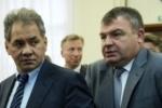 Министр обороны Сердюков отправлен в отставку, его заменит Шойгу