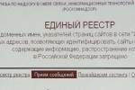 В реестр запрещенных сайтов из пяти тысяч ресурсов внесли только десять