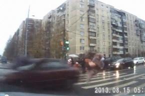 Водитель, сбивший четверых на переходе, задержан: он пытался скрыться от полиции
