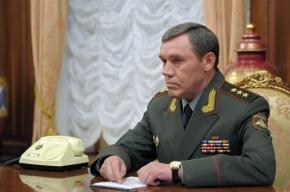 Путин одобрил кандидатуру нового начальника Генштаба