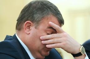 Путин отправил в отставку министра обороны Анатолия Сердюкова