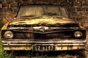 За разбитые фары и спущенные шины автомобили будут забирать как автохлам