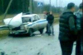 Очевидцы утверждают, что полицейский, устроивший ДТП в Ленобласти, был пьян