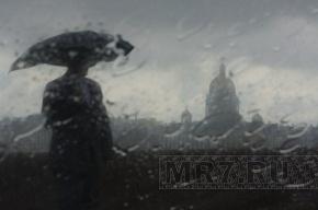 Дождь в Петербурге 12 ноября будет идти весь день