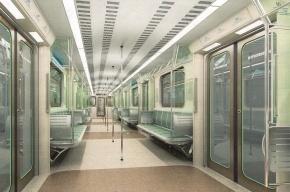 У вагонов петербургского метро будет новый внутренний дизайн