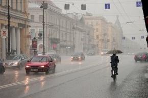 Погода в Петербурге: сегодня днем будет дождь