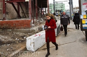 ВМоскве продолжается борьба снезаконными палатками