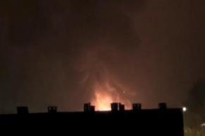 В Калининграде горит колония общего режима