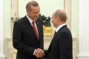 Путин вылечил спину и летит с визитом в Турцию