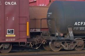 В Петербурге поймали четверых школьников, катавшихся между вагонами товарного поезда