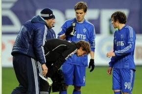 Матч «Динамо» – «Зенит» прерван: кто бросил петарду, что случилось с Шуниным?