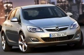 В Петербурге началось серийное производство седанов Opel Astra