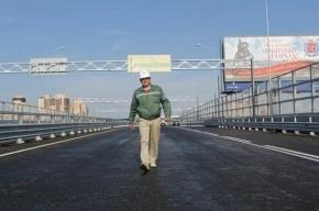 Вице-губернатор Козырев наконец-то нашел время открыть путепровод на Приморском шоссе