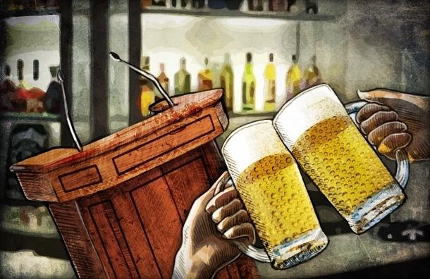 Оппозиционный бар «Свобода» открылся в Петербурге: «Выпьем за политзеков!»