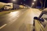 Пробка на трассе Петербург – Москва (Россия, М-10), Тверь, Тверская область: Фоторепортаж