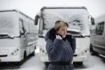 Водители автобусов и маршруток: Фоторепортаж