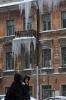 Фоторепортаж: «Сосульки в районе Каменноостровского проспекта»