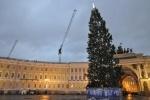 Новогодняя ель, елка, Дворцовая: Фоторепортаж