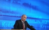 Фоторепортаж: «Владимир Путин, пресс-конференция 20 декабря 2012»