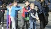Фоторепортаж: «Стрельба в школе в США 14.12.12»