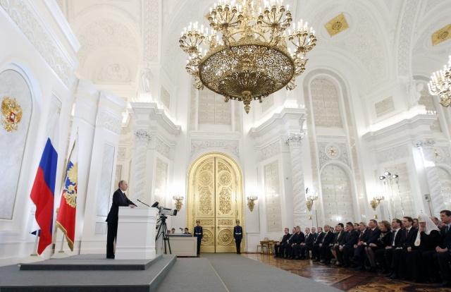 Послание президента Владимира Путина Федеральному собранию: Фото