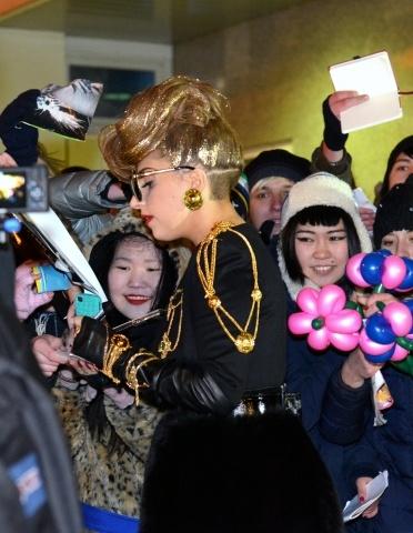 Леди Гага в Питере - фото: Фото