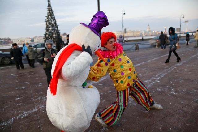 Дед Мороз в Петербурге: Фото
