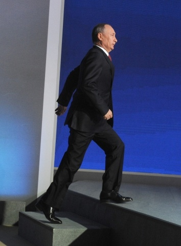 Владимир Путин, пресс-конференция 20 декабря 2012: Фото