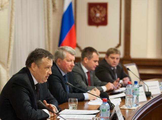Ленобласть и ОЖД, подписание договора о перевозках в электричках 2012: Фото