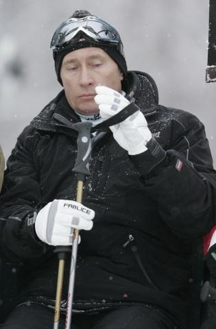 Путин горные лыжи: Фото
