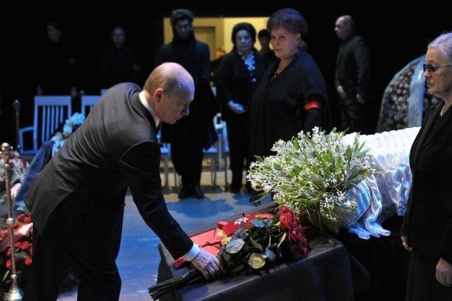 Прощание с Галиной Вишневской: Фото